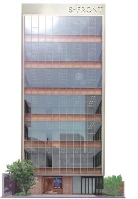 S-FRONT代々木ビルの外観写真