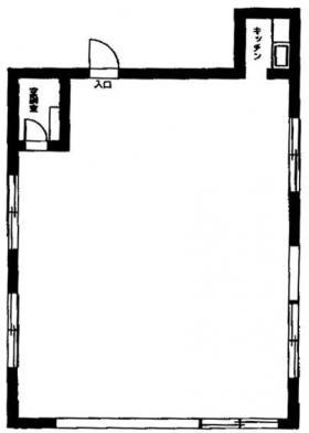 グランシャリオビル:基準階図面