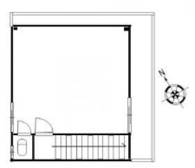 第3丸上ビル:基準階図面