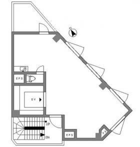 ISOLETTAビル:基準階図面