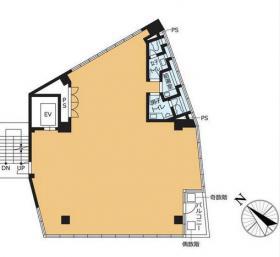 VORT外苑前Ⅲビル:基準階図面