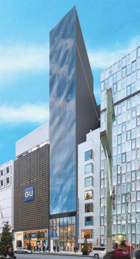 仮称)中埜産業 銀座5丁目プロジェクトビルの外観写真