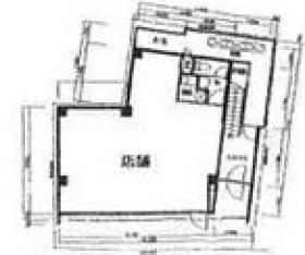 神宮前3町目ビル:基準階図面