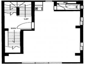 丸西シートビル:基準階図面