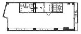 共和神田ビル:基準階図面