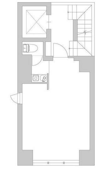 GranDuo渋谷ビル 3F 8.03坪(26.54m<sup>2</sup>) 図面