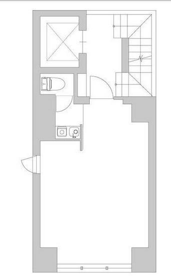 GranDuo渋谷ビル 4F 8.03坪(26.54m<sup>2</sup>) 図面