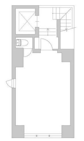 GranDuo渋谷ビル B1F 8.03坪(26.54m<sup>2</sup>) 図面
