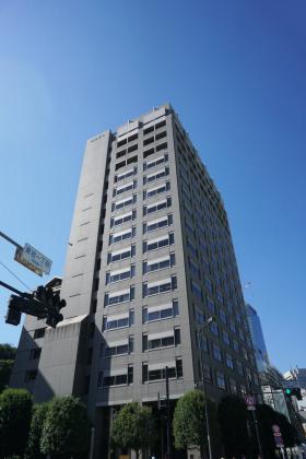 愛宕ビューアパートメントビルの外観写真