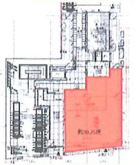ヒューリック神田駿河台計画 1F 35.2坪(116.36m<sup>2</sup>) 図面