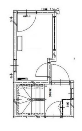 Ludens戸越公園ビル:基準階図面