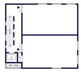 Ebisu-HILLSビルの基準階図面