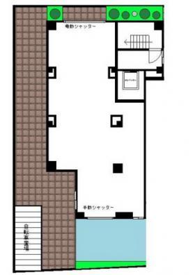 グレイスコート赤堤ビル:基準階図面
