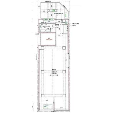 神田アレルトビル 6F 14.52坪(47.99m<sup>2</sup>) 図面