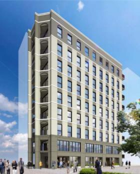 仮称)東新橋2丁目計画ビルの外観写真