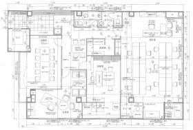 シマザキビル:基準階図面