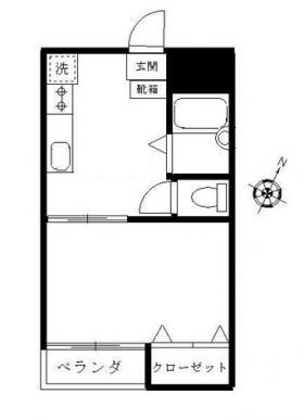柳川ビル:基準階図面