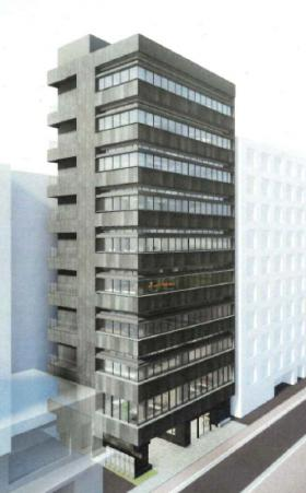 (仮)銀座三丁目計画ビルの外観写真
