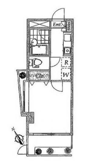 第3羽田ビル:基準階図面