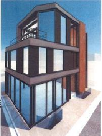表参道アクセス(仮称ビルの外観