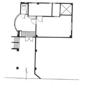 ラウム御殿山ビル:基準階図面