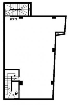 十条ホワイトビル:基準階図面