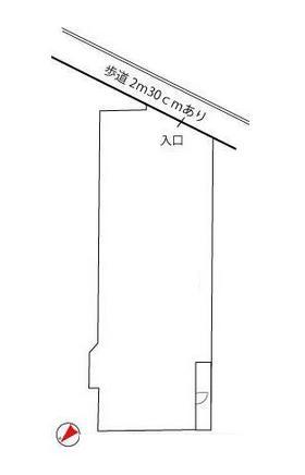 赤羽南ビル:基準階図面