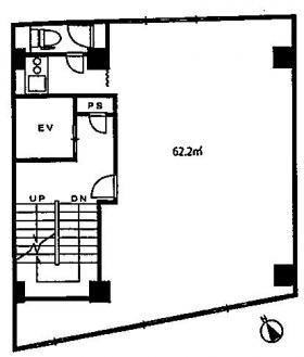 タカハシビル:基準階図面