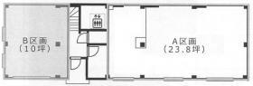 マルベリー月島ビル:基準階図面
