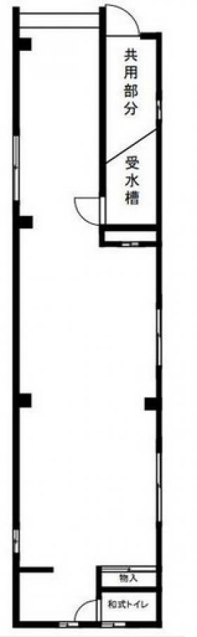 前川ビル:基準階図面