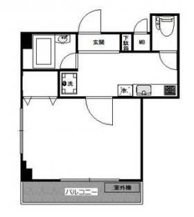 BLUTE渋谷ビル:基準階図面