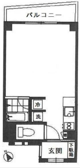 アルファースタイルビル:基準階図面
