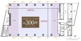 神宮前タワービルディング:基準階図面