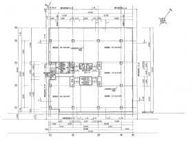 仮称)町田市森野一丁目計画ビル:基準階図面