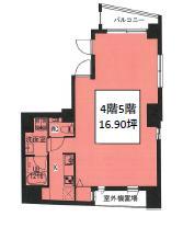 プチ・ウィルビル 5F 16.91坪(55.90m<sup>2</sup>) 図面