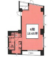 プチ・ウィルビル 6F 18.66坪(61.68m<sup>2</sup>) 図面