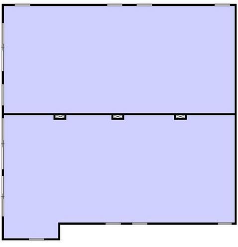 タウンハウス神宮前ビルの基準階図面