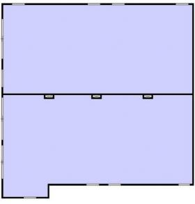 タウンハウス神宮前ビル:基準階図面