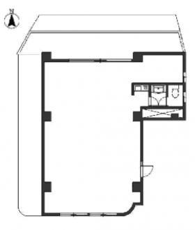 Y-1ビル:基準階図面
