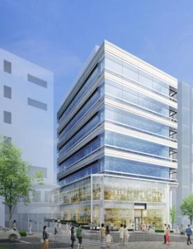 (仮称)神南一丁目計画ビルの外観写真