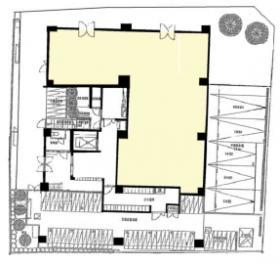 アパートメンツ練馬北町ビル:基準階図面