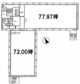 菱化代々木ビル:基準階図面