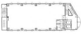 SOC高輪ビル:基準階図面