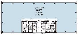 KDX晴海ビル:基準階図面