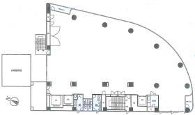 日本橋浜町ビル:基準階図面