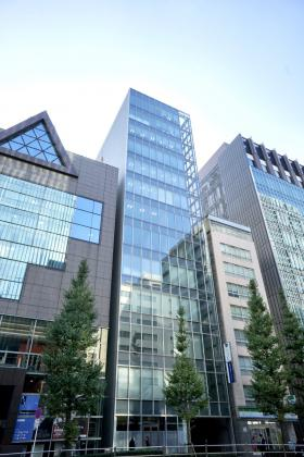 京橋スクエアビルの外観写真