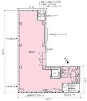 西新橋PR-EX:基準階図面