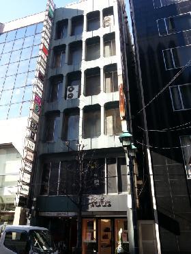 ソワレド銀座ビルの外観写真