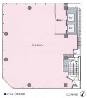 サクセス銀座7ビル:基準階図面