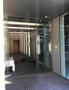 サクセス銀座7ビルのエントランス